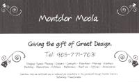 Montdor Moola Gift Certificate